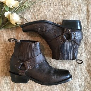Dolce Vita Shoes - Dolce Vita Nevada Leather Moto Ankle Boots